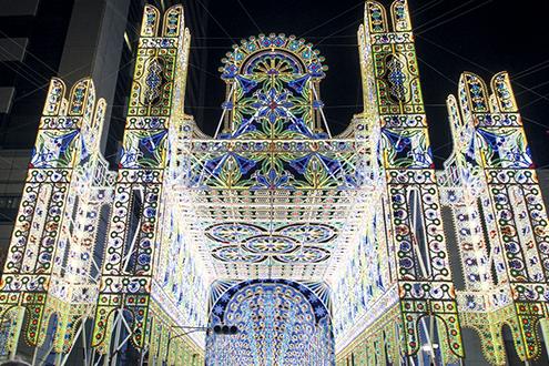 神戸ルミナリエの入口