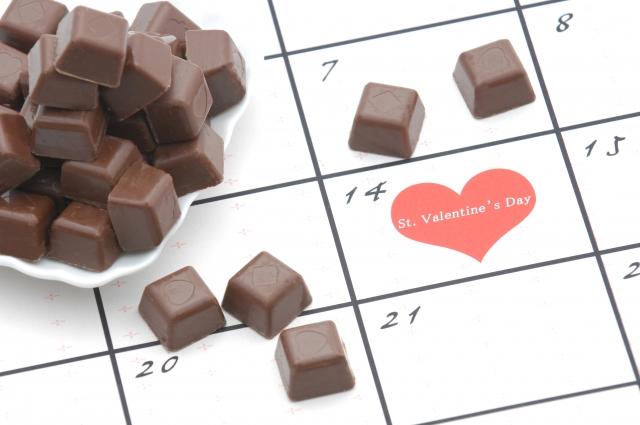 バレンタインデーとチョコ